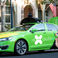Self-driving car startup AutoX  is launching California's first autonomous grocery deliver