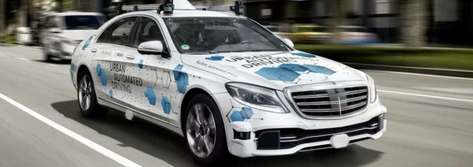 Daimler starts pilot testing of self-driving Mercedes S-class taxis