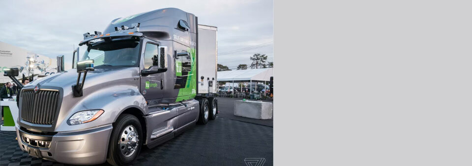 TuSimple finds a partner to help it build a fleet of robot semi trucks
