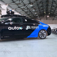 AutoX launches its RoboTaxi service in Shanghai, competing with Didi's pilot program