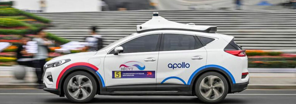 Baidu launches its 'Apollo Go' robotaxi service in China's capital city of Beijing