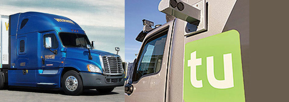 Werner invests in TuSimple to spur autonomous trucking
