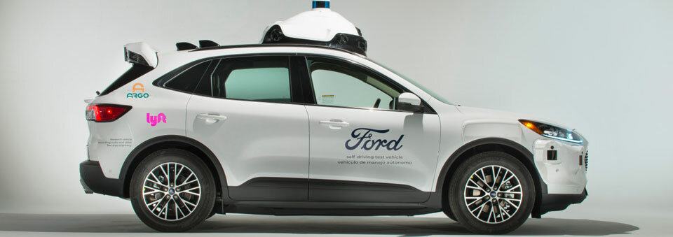 Argo, Ford to launch self-driving vehicles on Lyft's ride-hailing app