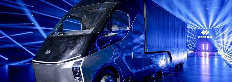 China's Baidu unveils autonomous driving 'robot truck' Xingtu