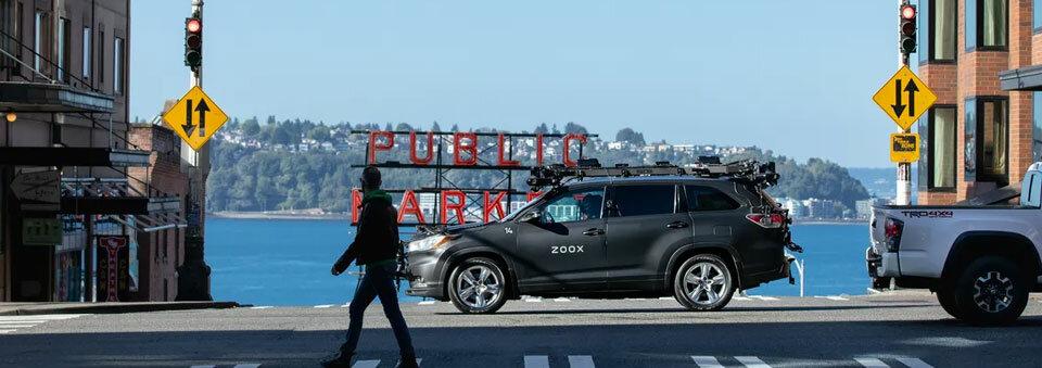 Amazon's Zoox will test its autonomous vehicles on Seattle's rainy streets