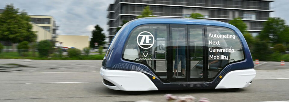 ZF invests in Oxbotica to develop autonomous urban shuttles