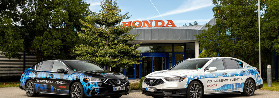 Honda showcases Level 3 and Level 4 autonomous prototypes in Germany